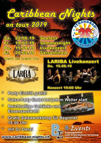 Flyer Caribbean Nights Lorzenhof 2019 V013
