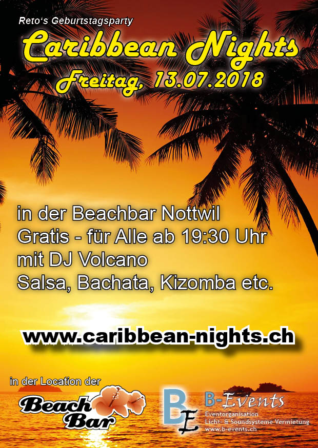 Flyer Caribbean Nights 2018 V01