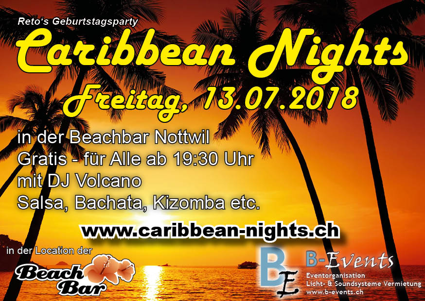 Flyer Caribbean Nights 2018 V013